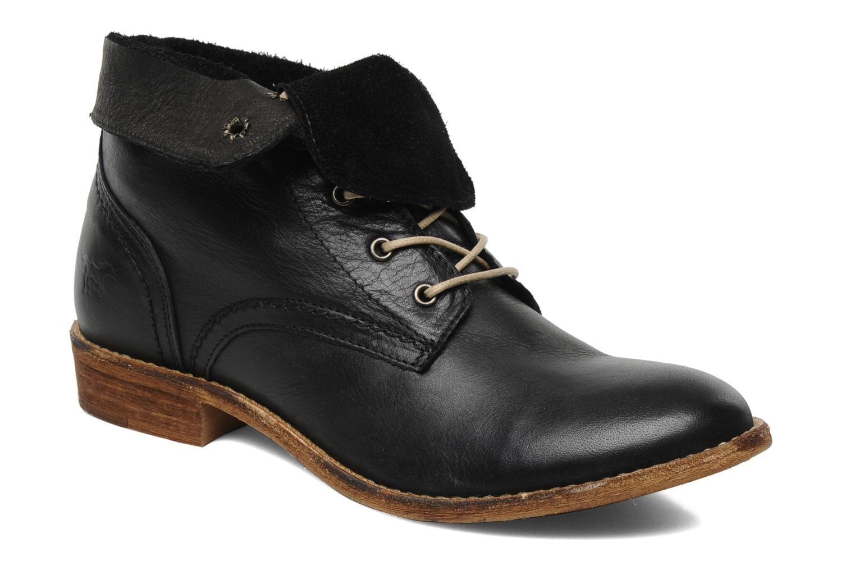 Boots en enkellaarsjes Mustang shoes Multa Zwart detail