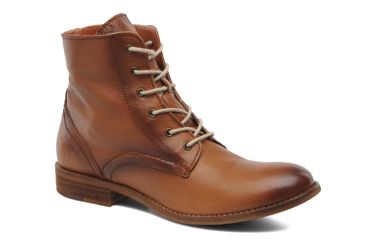 Ankle boots Mustang shoes Multa Brown 3/4 view