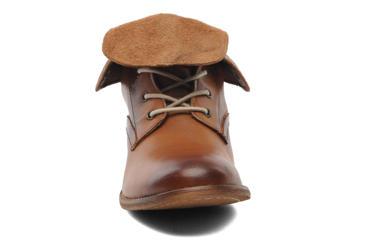 Ankle boots Mustang shoes Multa Brown model view