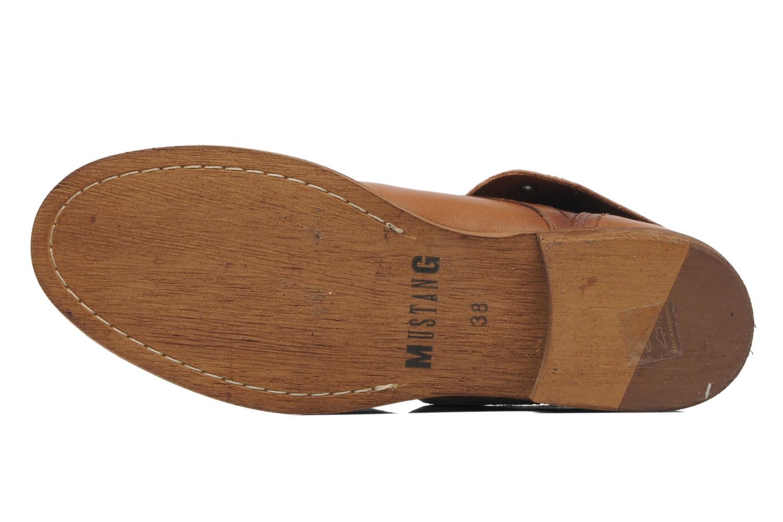Bottines et boots Mustang shoes Multa Marron vue haut