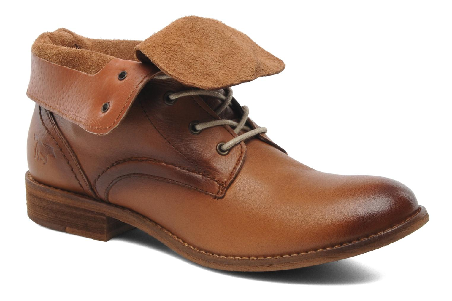 Ankle boots Mustang shoes Multa Brown detailed view/ Pair view