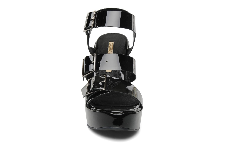 Sandalen Buffalo Brive schwarz schuhe getragen