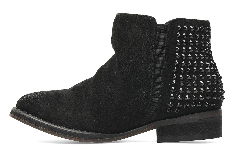 Bottines et boots Les Tropéziennes par M Belarbi Denvers Noir vue face