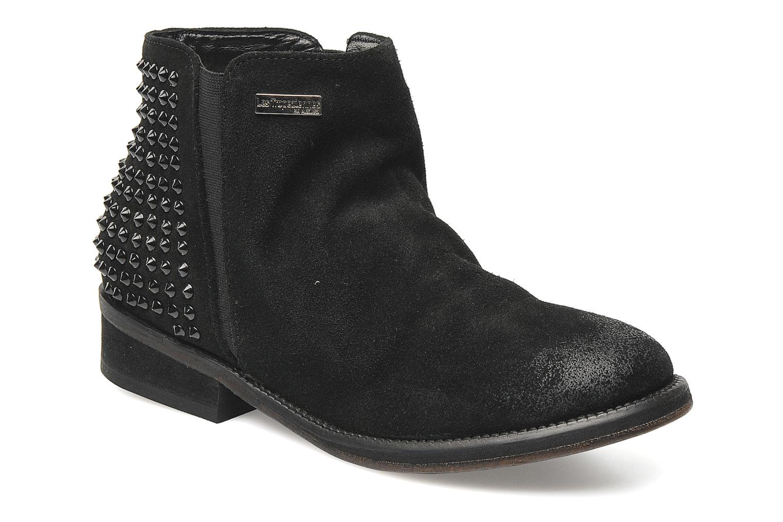 Bottines et boots Les Tropéziennes par M Belarbi Denvers Noir vue détail/paire