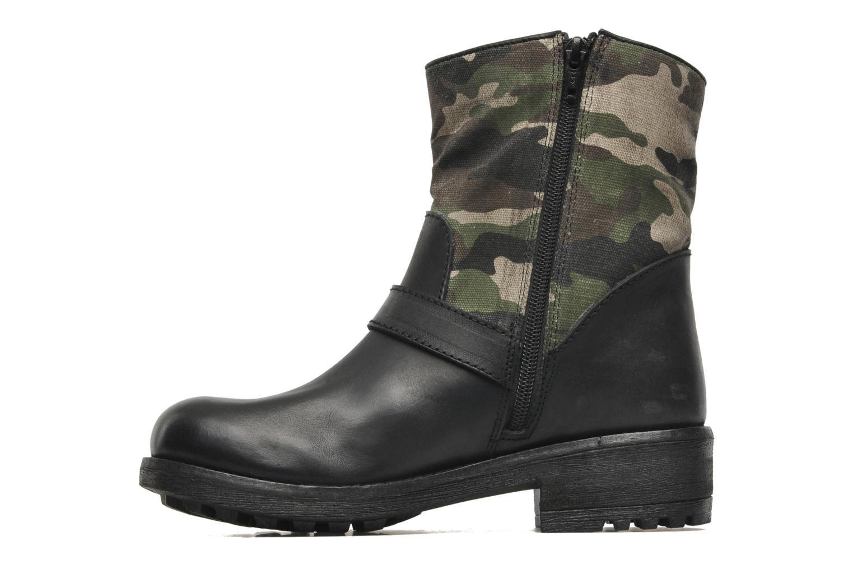 Bottines et boots Les Tropéziennes par M Belarbi Lucky Noir vue face