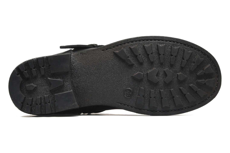 Bottines et boots Les Tropéziennes par M Belarbi Lucky Noir vue haut