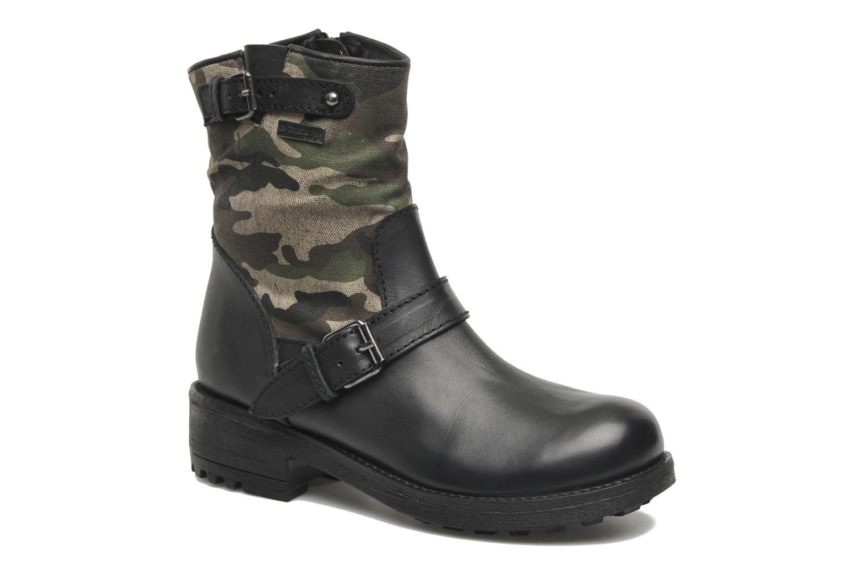 Bottines et boots Les Tropéziennes par M Belarbi Lucky Noir vue détail/paire