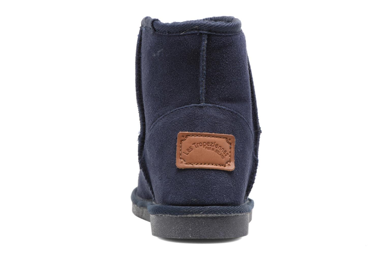 Bottines et boots Les Tropéziennes par M Belarbi Flocon Bleu vue droite