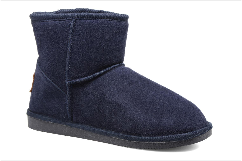 Ankle boots Les Tropéziennes par M Belarbi Flocon Blue detailed view/ Pair view