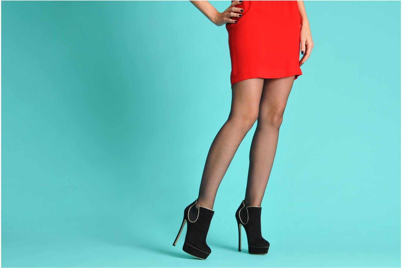 Stiefeletten & Boots Casadei Carlucci schwarz ansicht von unten / tasche getragen