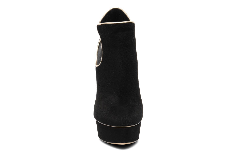 Carlucci Queensuede+Softpearl Black+Crema