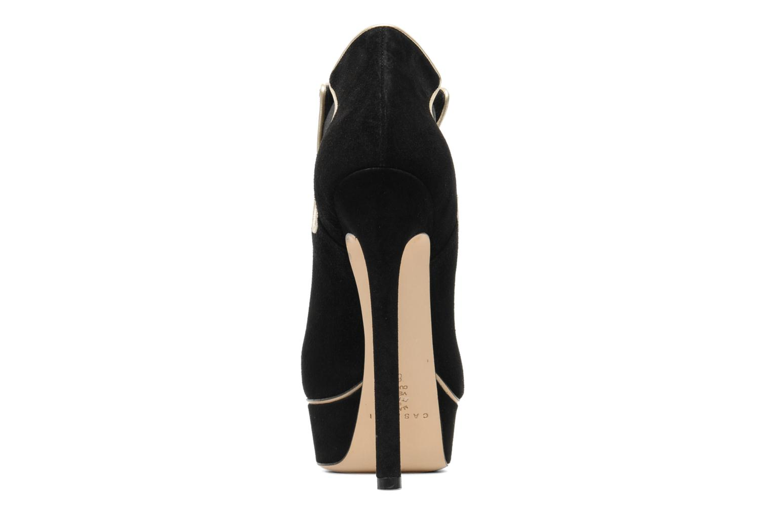 Carlucci Queensuede+Softpearl Black+Crema