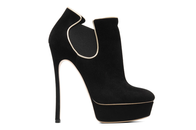 Bottines et boots Casadei Carlucci Noir vue derrière