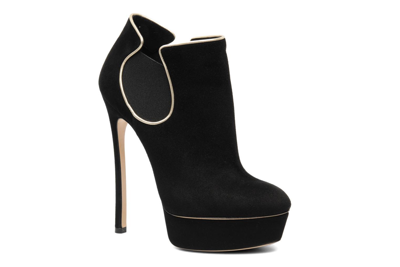 Bottines et boots Casadei Carlucci Noir vue détail/paire