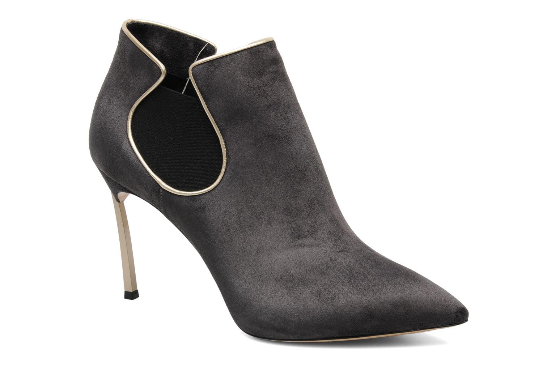 Boots en enkellaarsjes Casadei Mina Grijs detail
