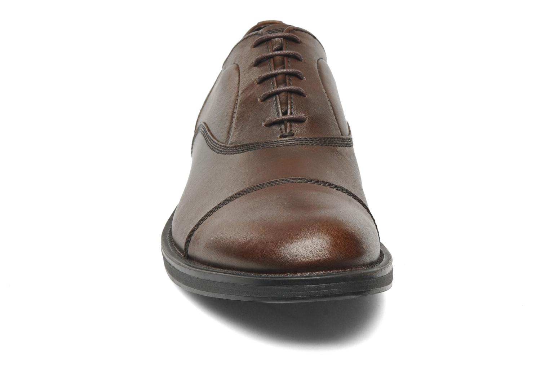 Schnürschuhe Stonefly Class 3 Calf Veg braun schuhe getragen