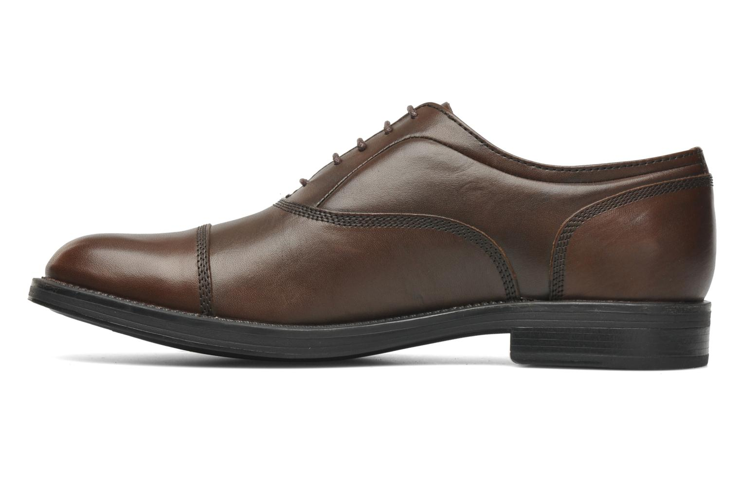 Lace-up shoes Stonefly Class 3 Calf Veg Brown front view