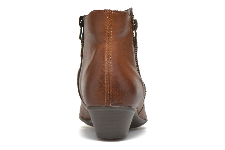 Bottines et boots Remonte Nono D7382 Marron vue droite