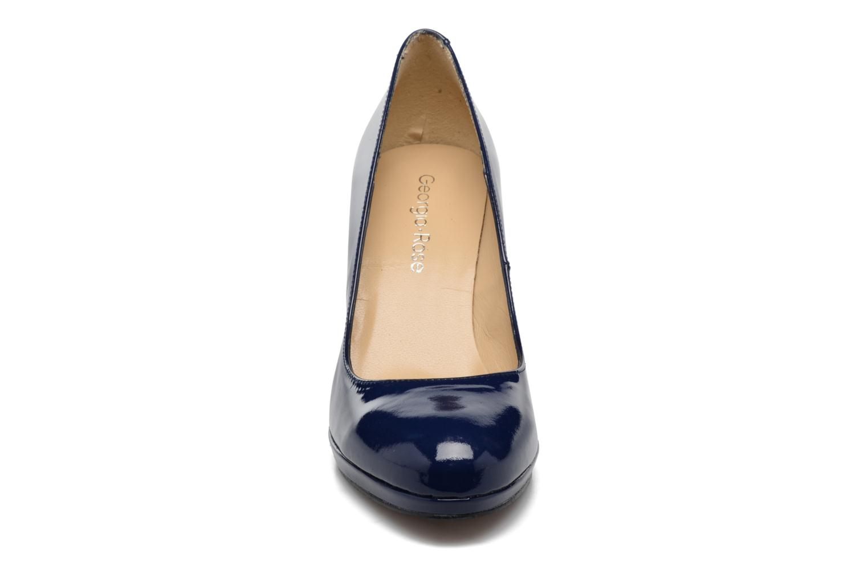 Escarpins Georgia Rose Serverne Bleu vue portées chaussures