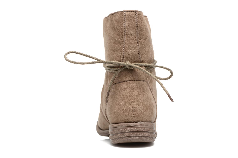 Botines  I Love Shoes Thableau Beige vista lateral derecha