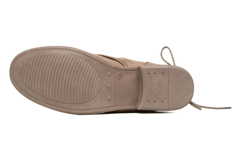 Stiefeletten & Boots I Love Shoes Thableau beige ansicht von oben