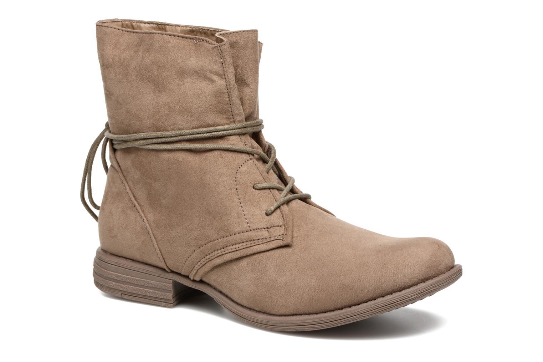 Boots en enkellaarsjes I Love Shoes Thableau Beige detail