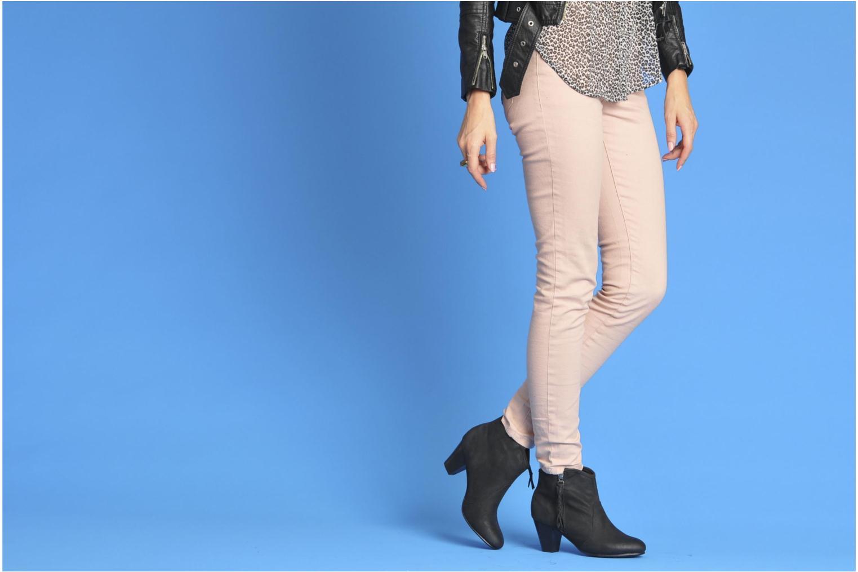Bottines et boots I Love Shoes Thalisman Marron vue bas / vue portée sac