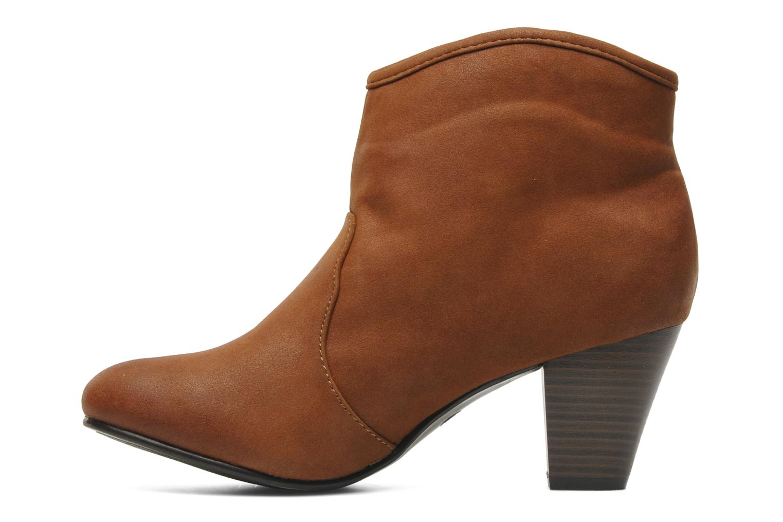 Bottines et boots I Love Shoes Thalisman Marron vue face