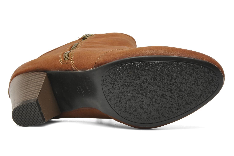 Bottines et boots I Love Shoes Thalisman Marron vue haut