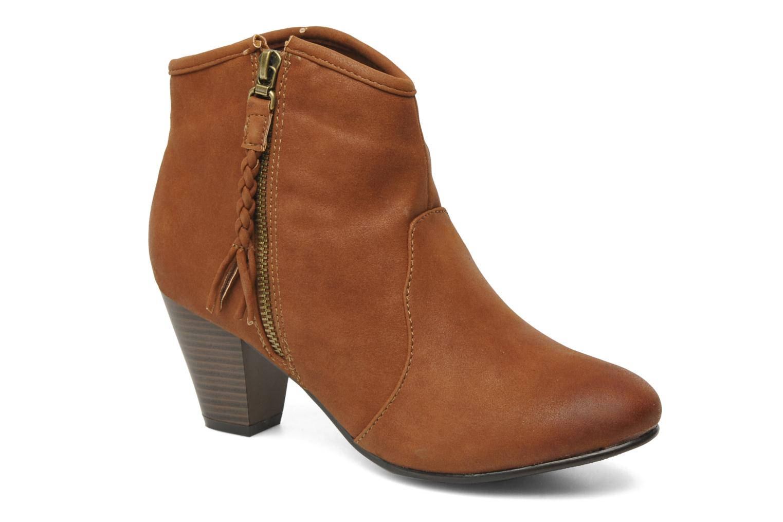 Bottines et boots I Love Shoes Thalisman Marron vue détail/paire