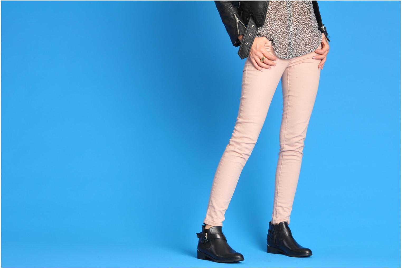 Bottines et boots I Love Shoes Thanche Marron vue bas / vue portée sac