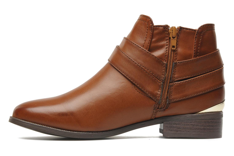 Bottines et boots I Love Shoes Thanche Marron vue face