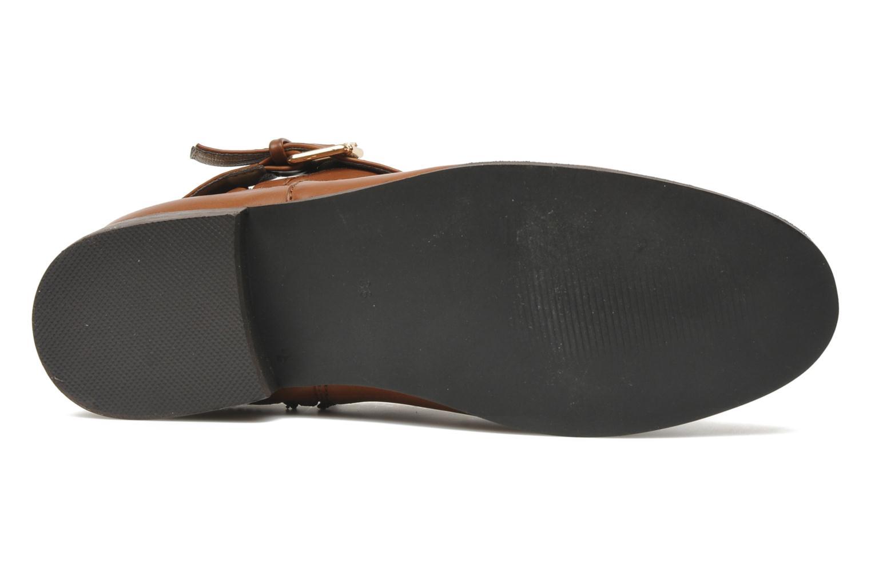 Bottines et boots I Love Shoes Thanche Marron vue haut