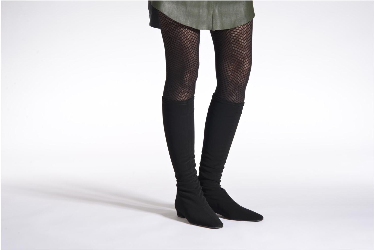 Boots & wellies Elizabeth Stuart Panam 322 Black view from underneath / model view