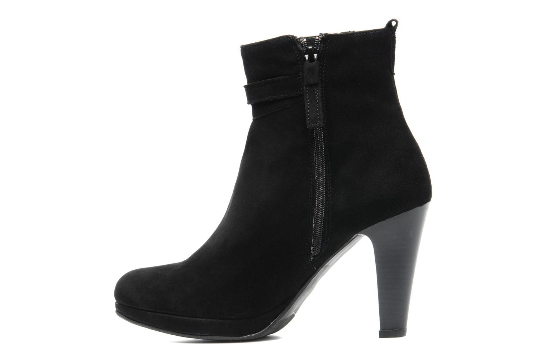 Ankle boots Elizabeth Stuart Foster 701 Black front view