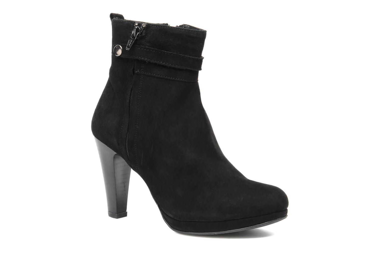 Ankle boots Elizabeth Stuart Foster 701 Black detailed view/ Pair view