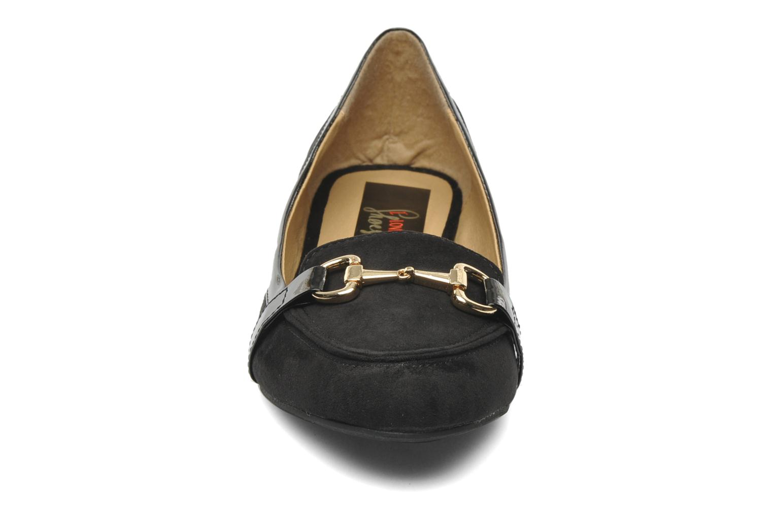 Loafers I Love Shoes Pacify Black model view