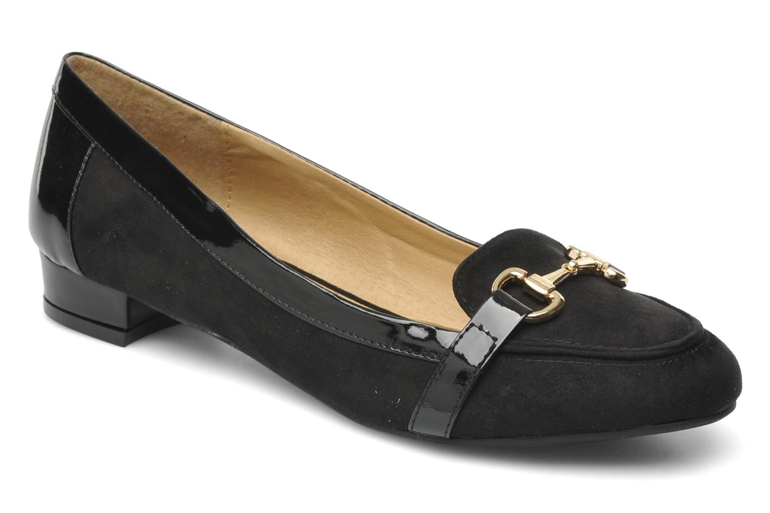 Loafers I Love Shoes Pacify Black detailed view/ Pair view