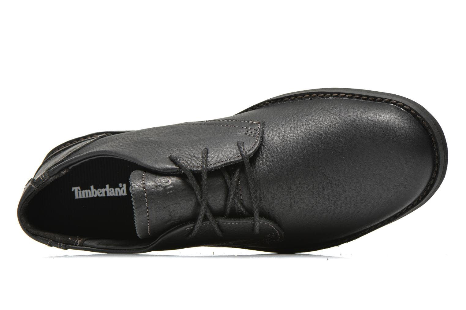 Chaussures à lacets Timberland Earthkeepers Travel Oxford Noir vue gauche