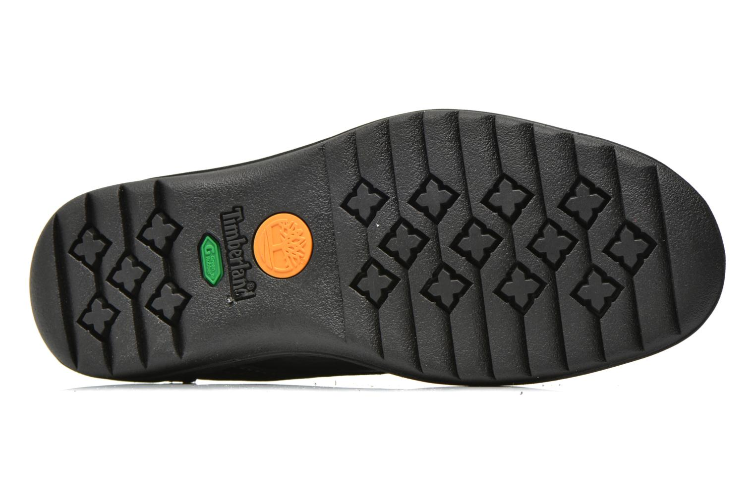 Chaussures à lacets Timberland Earthkeepers Travel Oxford Noir vue haut