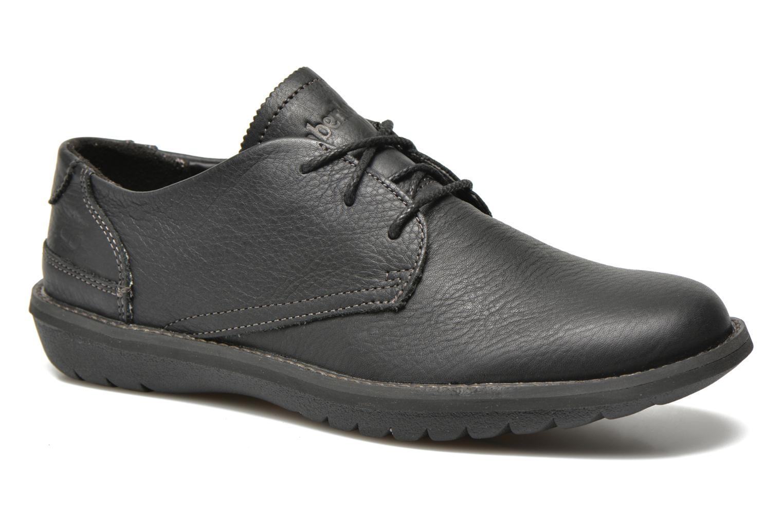 Chaussures à lacets Timberland Earthkeepers Travel Oxford Noir vue détail/paire