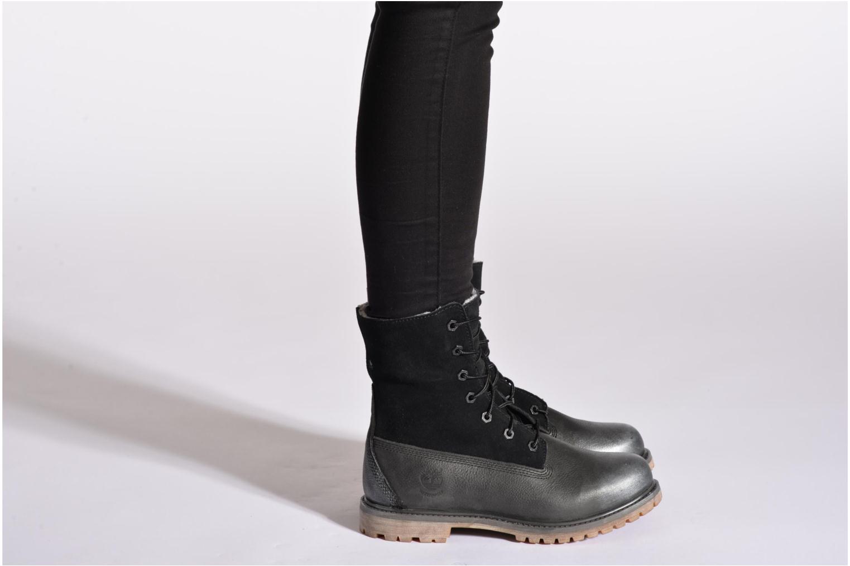 Stiefeletten & Boots Timberland Authentics Teddy Fleece WP Fold Down braun ansicht von unten / tasche getragen
