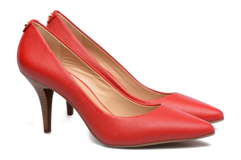 Zapatos de tacón Michael Michael Kors MK Flex Mid Pump W Rojo vista 3/4