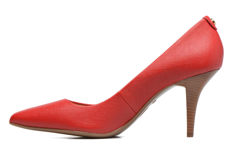 Zapatos de tacón Michael Michael Kors MK Flex Mid Pump W Rojo vista de frente