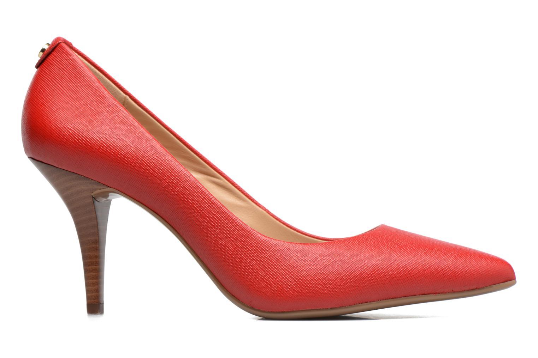 Zapatos de tacón Michael Michael Kors MK Flex Mid Pump W Rojo vistra trasera
