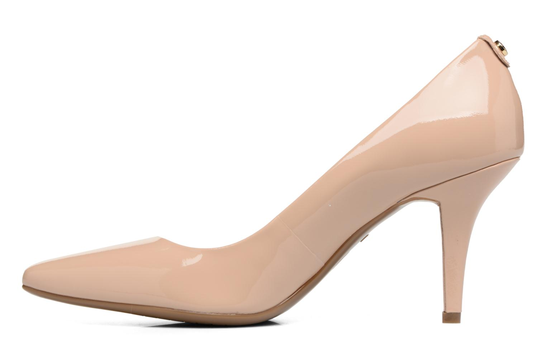 High heels Michael Michael Kors MK Flex Mid Pump W Beige front view