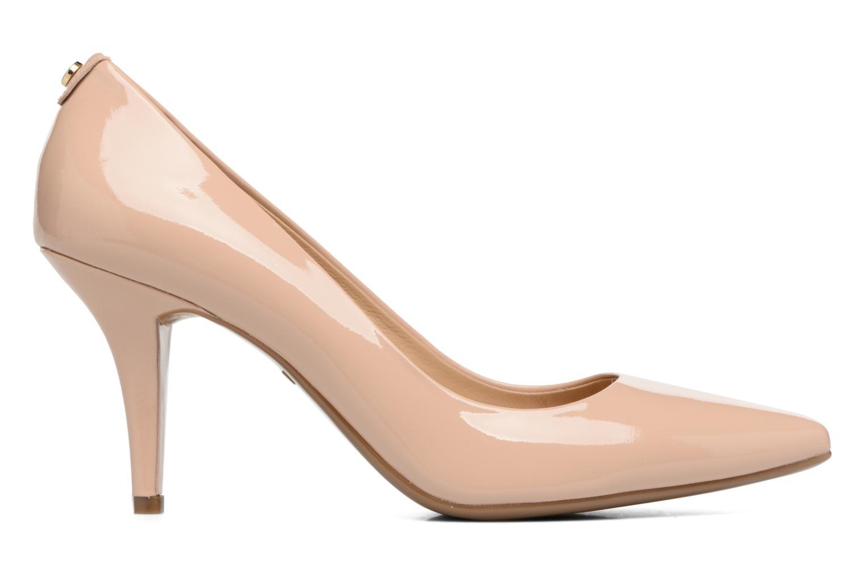 High heels Michael Michael Kors MK Flex Mid Pump W Beige back view