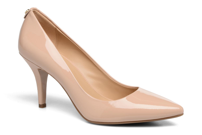 High heels Michael Michael Kors MK Flex Mid Pump W Beige detailed view/ Pair view