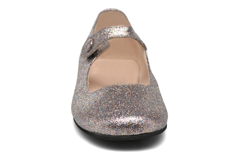 Ballerines Manuela de Juan Mimi Multicolore vue portées chaussures