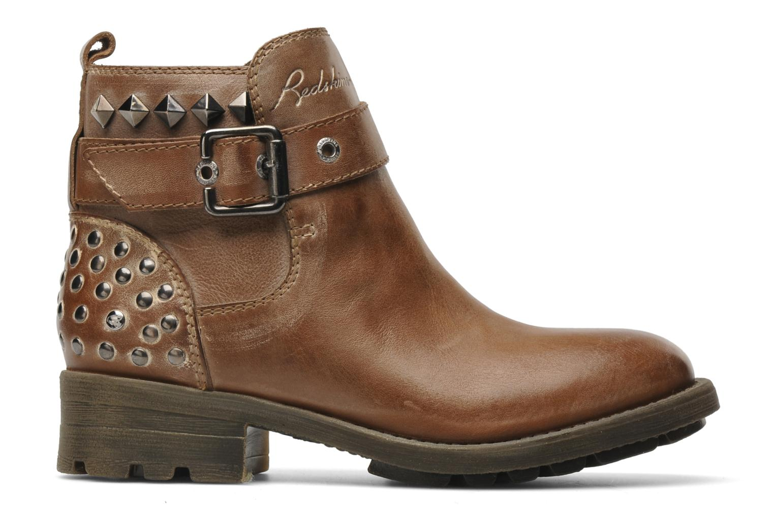 Ankle boots Redskins Gisor Brown back view